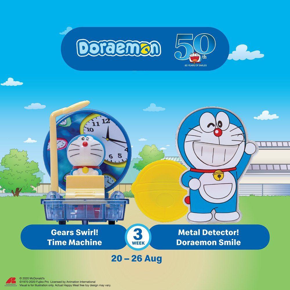 Mcdonald S Latest Happy Meal Toys Features Doraemon Redchili21 My