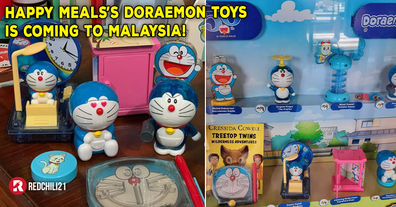 Mcdonald S Singapore Happy Meals Toys Features Doraemon Is Coming To Malaysia Redchili21 My